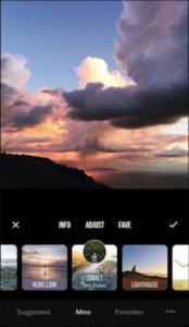 Appli Instagram Prime