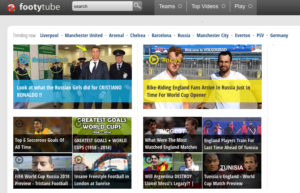 Site de streaming Footy Tube