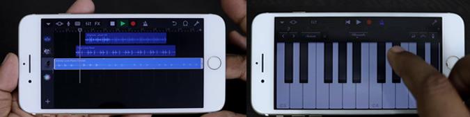 Application pour faire de la musique GarageBand
